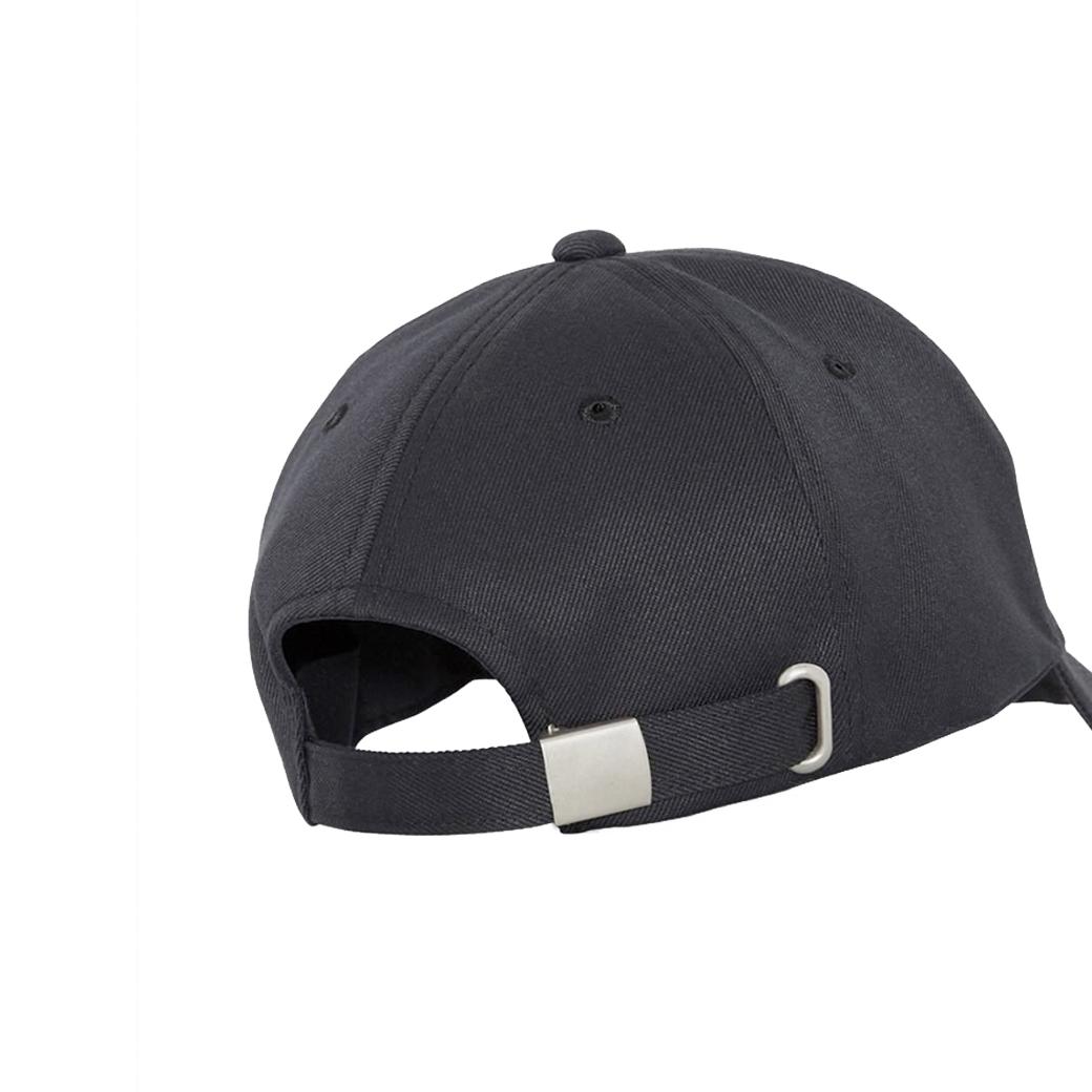 LÉANDRE METAL LOGO CAP BLACK