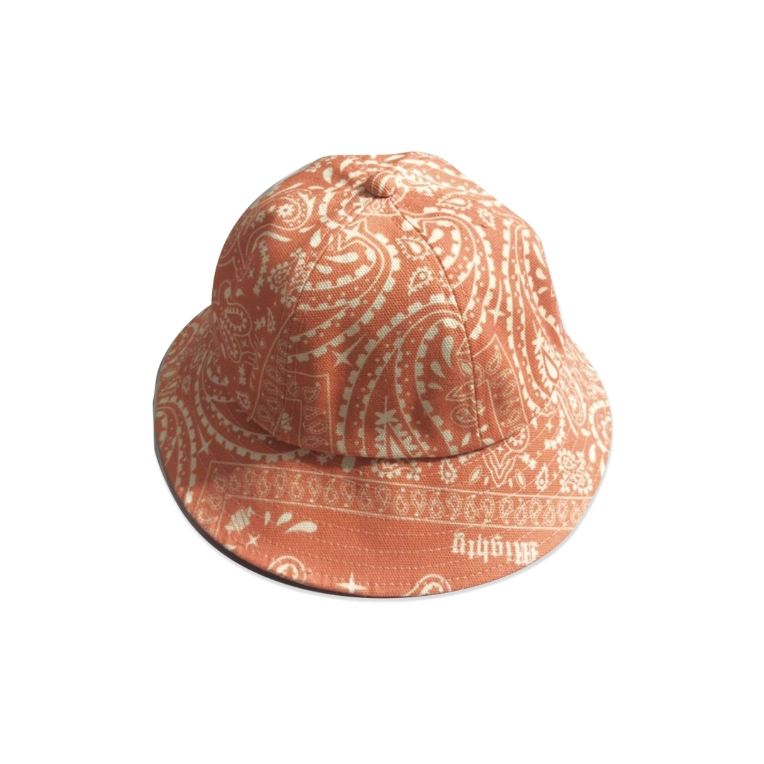 MIGHTY BANDANA BUCKET HAT 6PANEL ORANGE