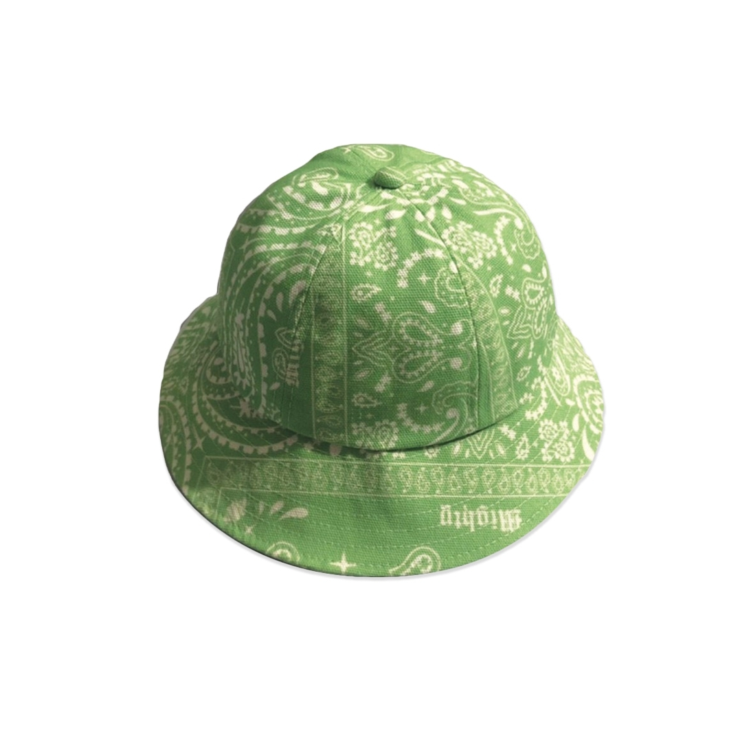 MIGHTY BANDANA BUCKET HAT 6PANEL GREEN