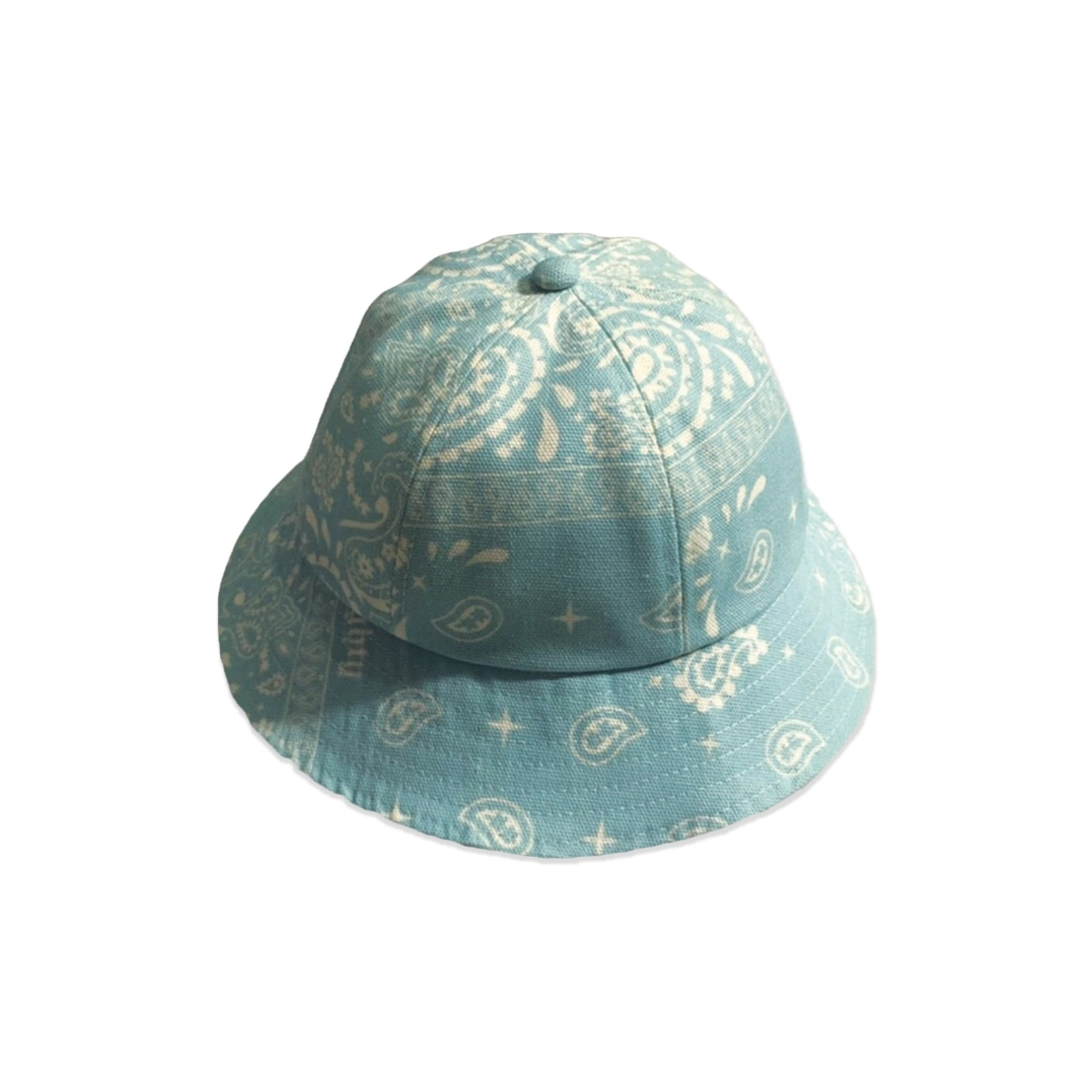 MIGHTY BANDANA BUCKET HAT 6PANEL BLUE