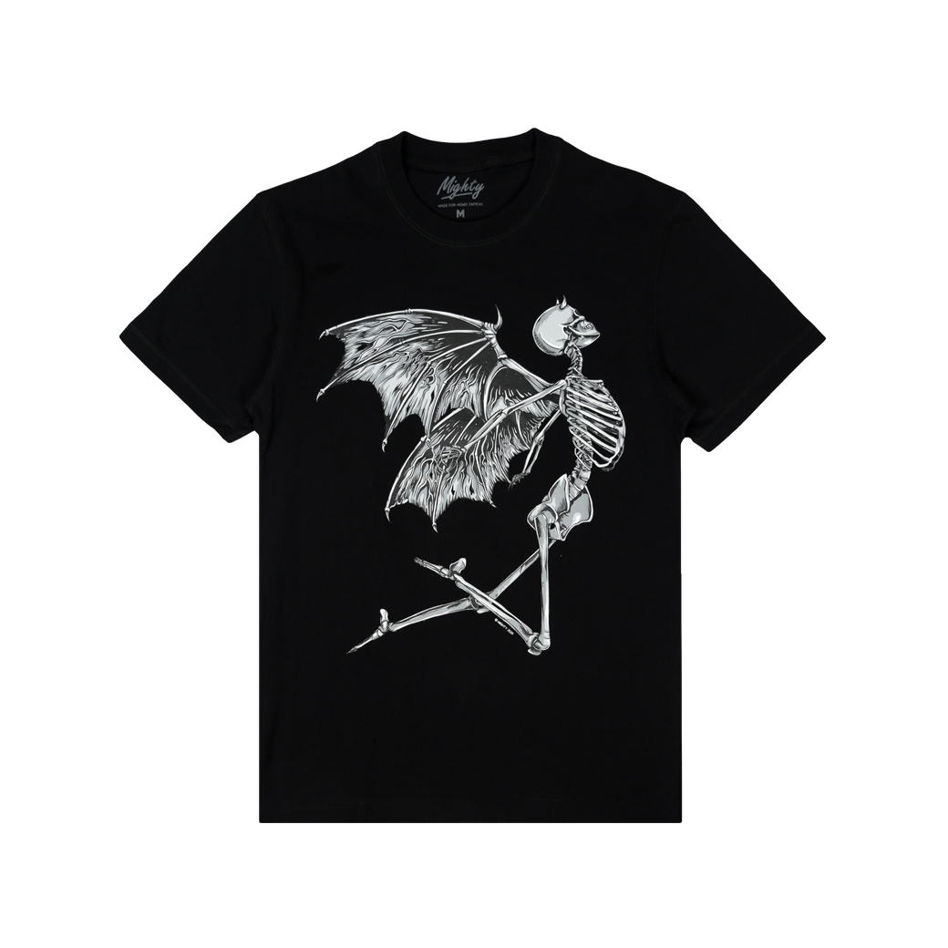 MIGHTY UNDEAD TEE BLACK
