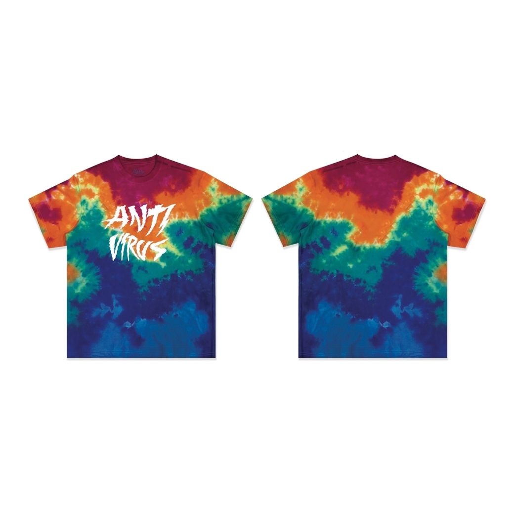 MIGHTY ANTI VIRUS TIEDYE TEE MULTI