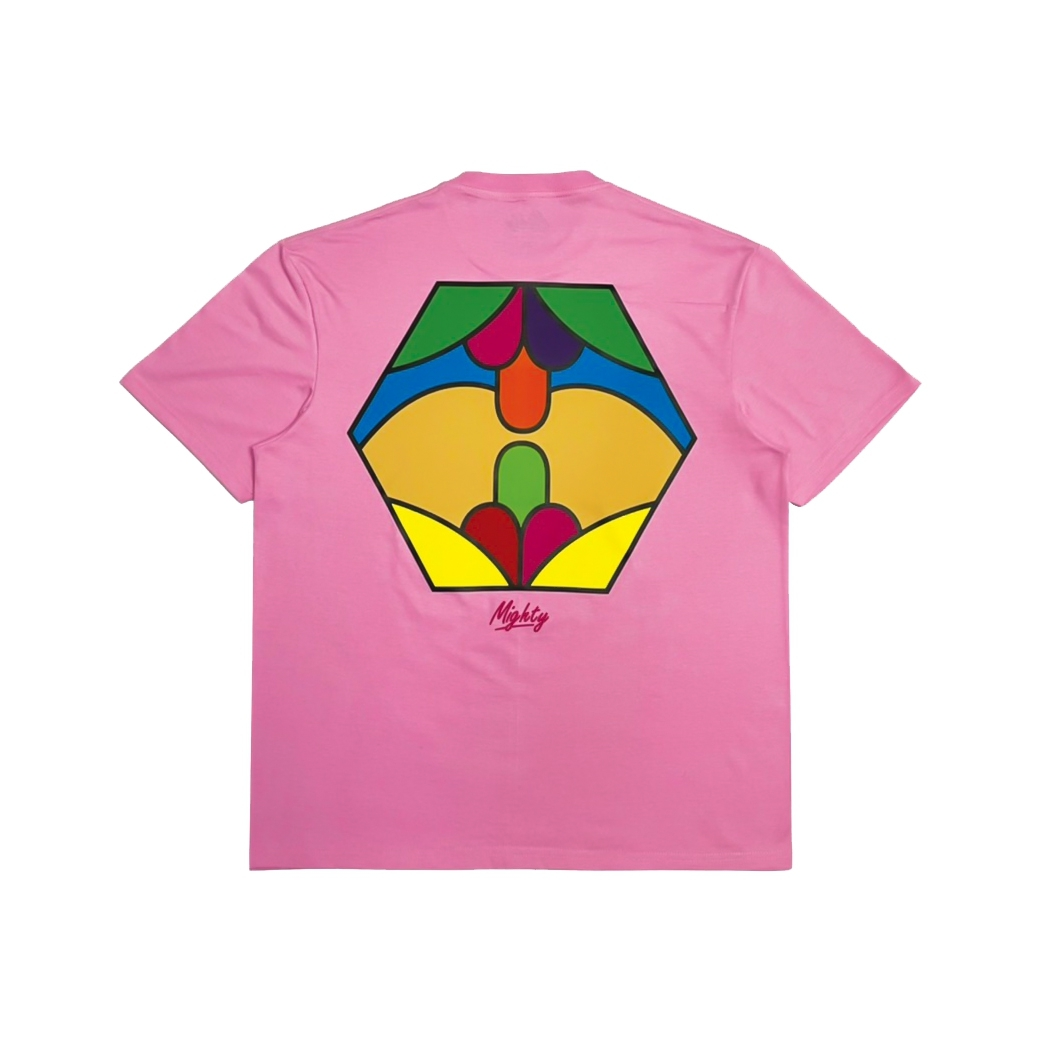 MIGHTY MULTI LOVE T-SHIRT PINK