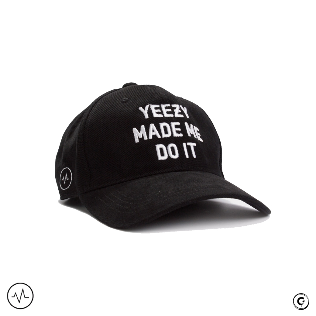 MAJOR MINORITY YEEZY MADE ME DO IT BASEBALL CAP