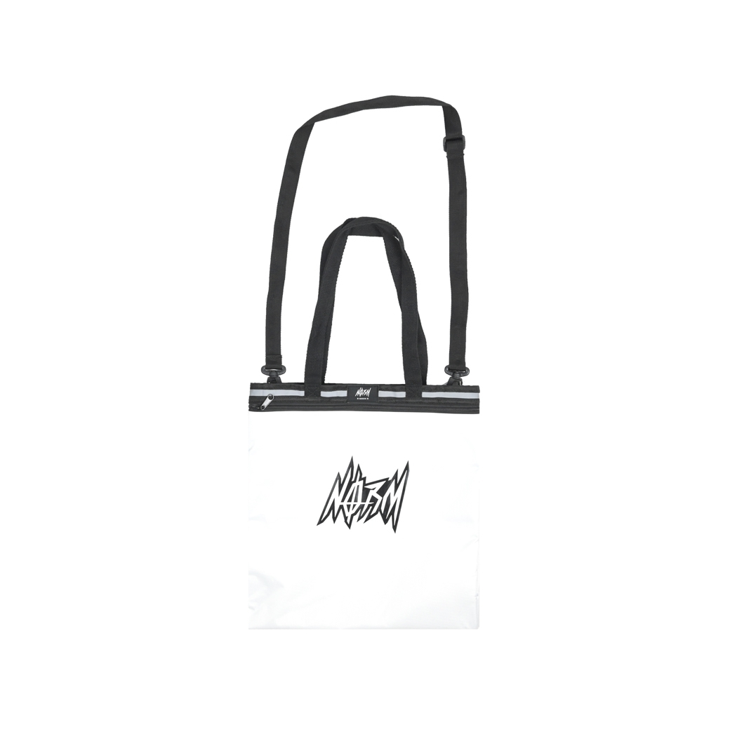 NORM THUNDER TOTE BAG WHITE
