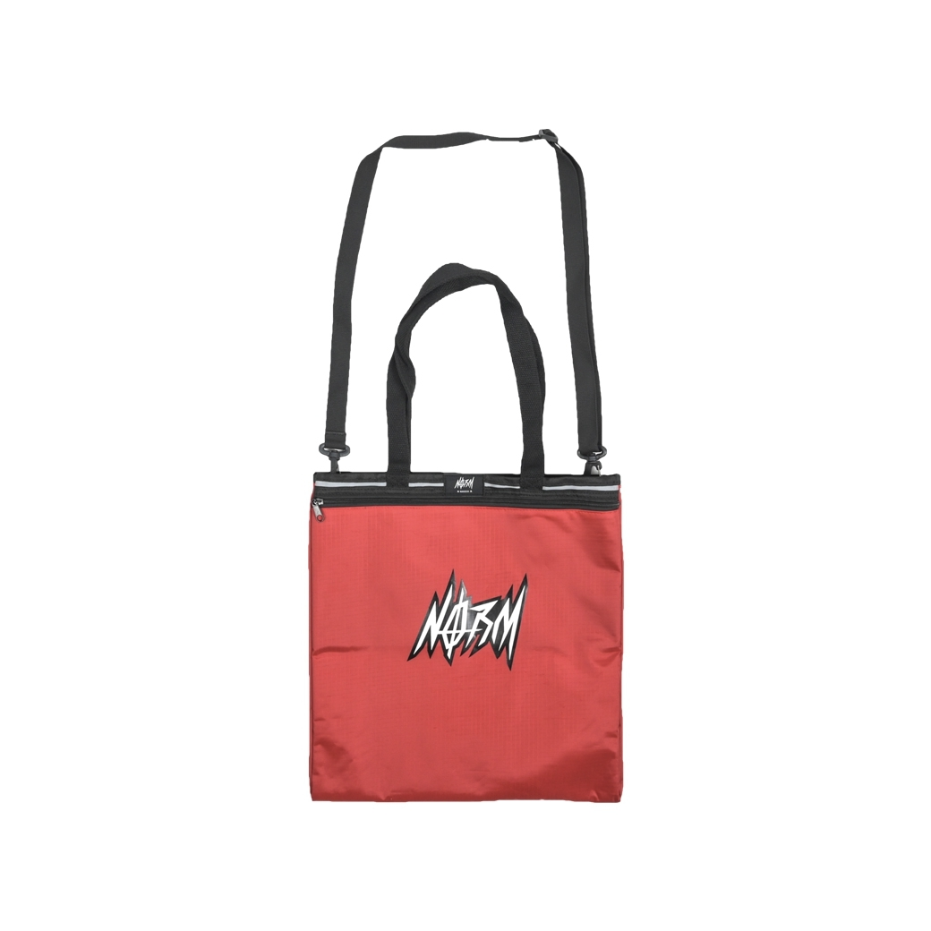 NORM THUNDER TOTE BAG RED