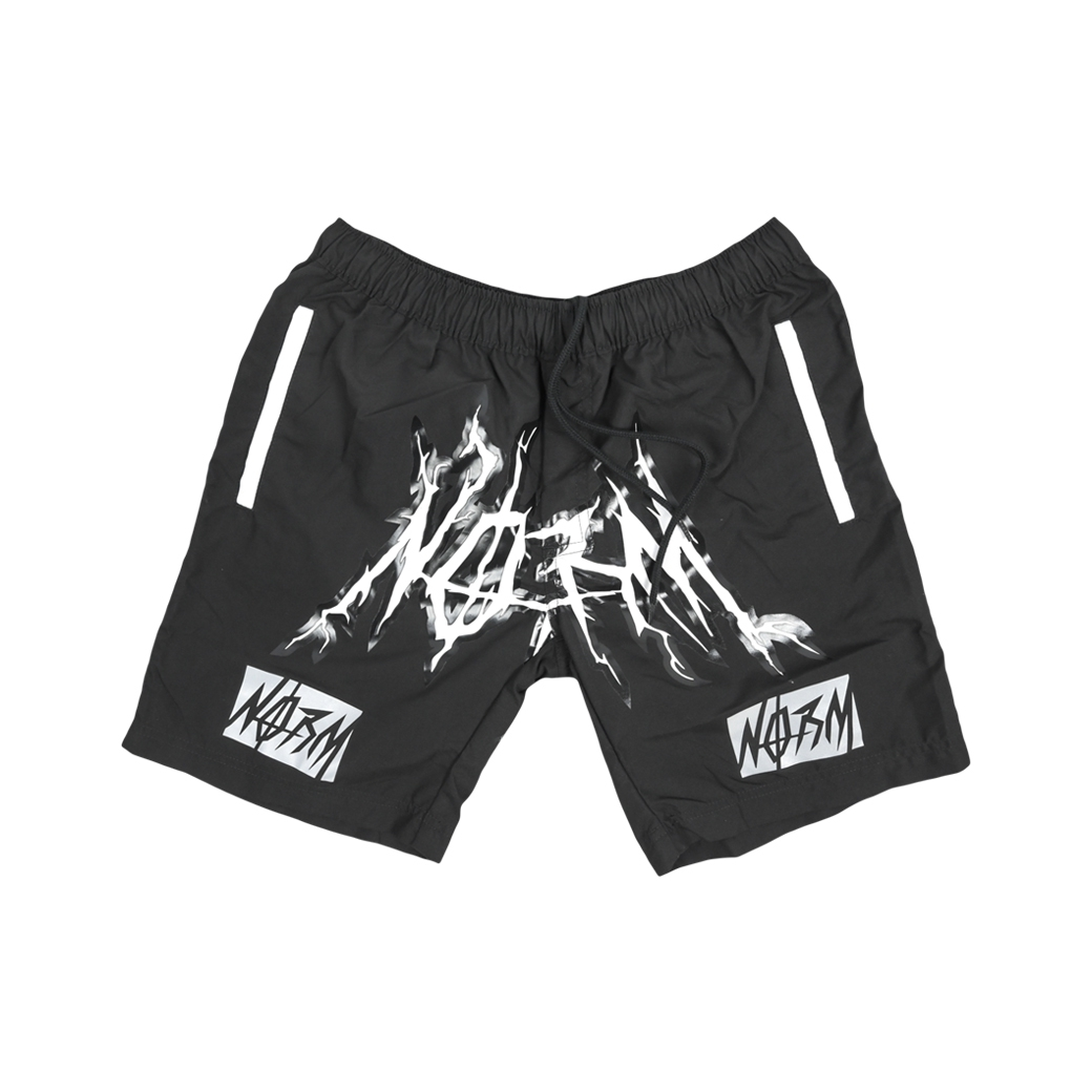NORM GORE FLEX SHORTS BLACK