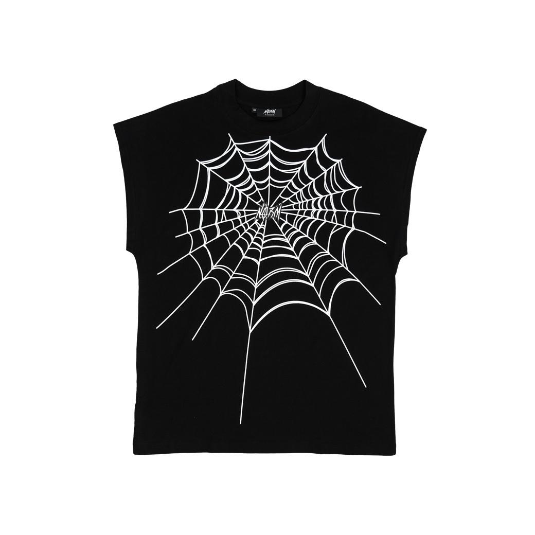 NORM SPIDER WEB NOS T-SHIRT BLACK