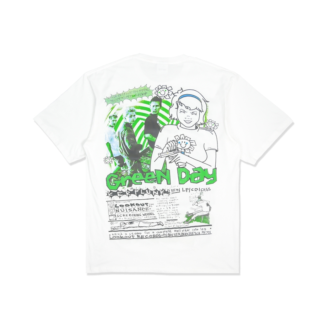OSTRACISM GREENDAY T-SHIRT WHITE