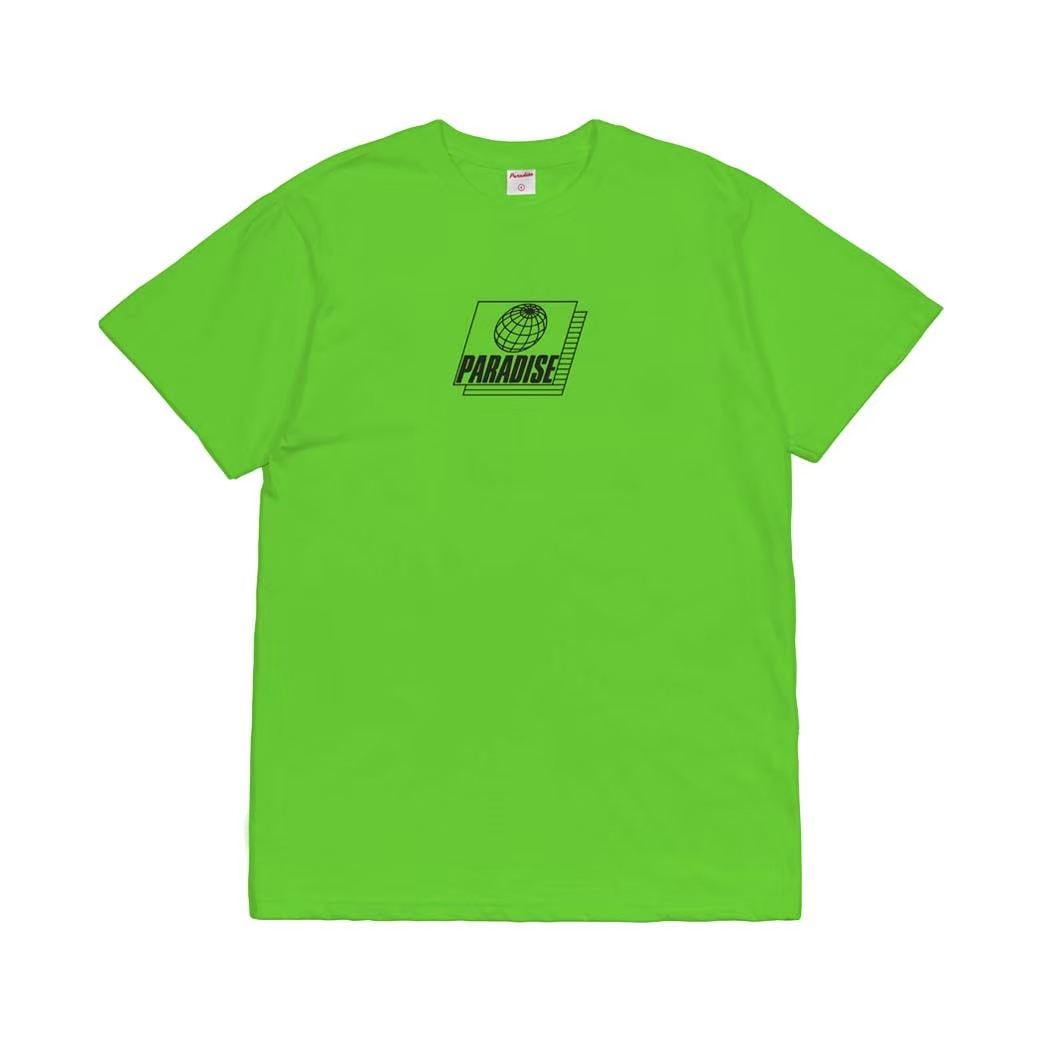 PARADISE YOUTH CLUB FUTURE NEED SAFETY TEE GREEN