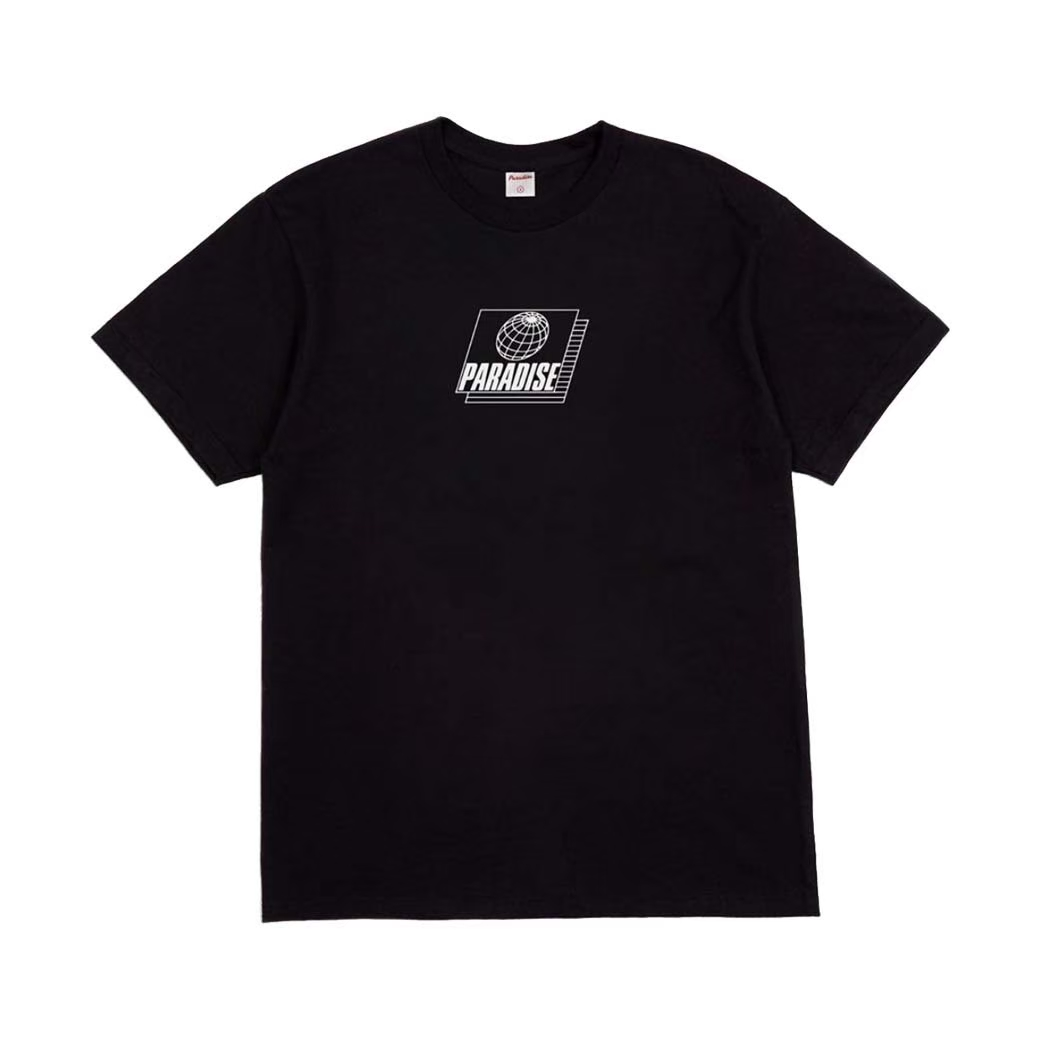 PARADISE YOUTH CLUB FUTURE NEED SAFETY TEE BLACK