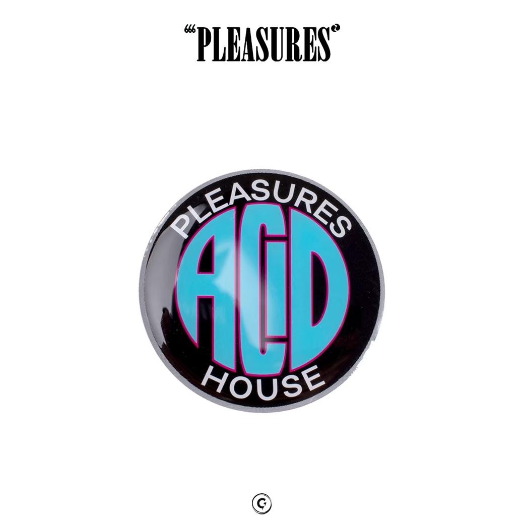 PLEASURES  ACID HOUSE PIN