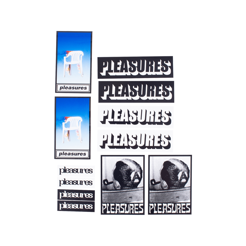 PLEASURES FALL 2019 STICKER PACK (30PC)