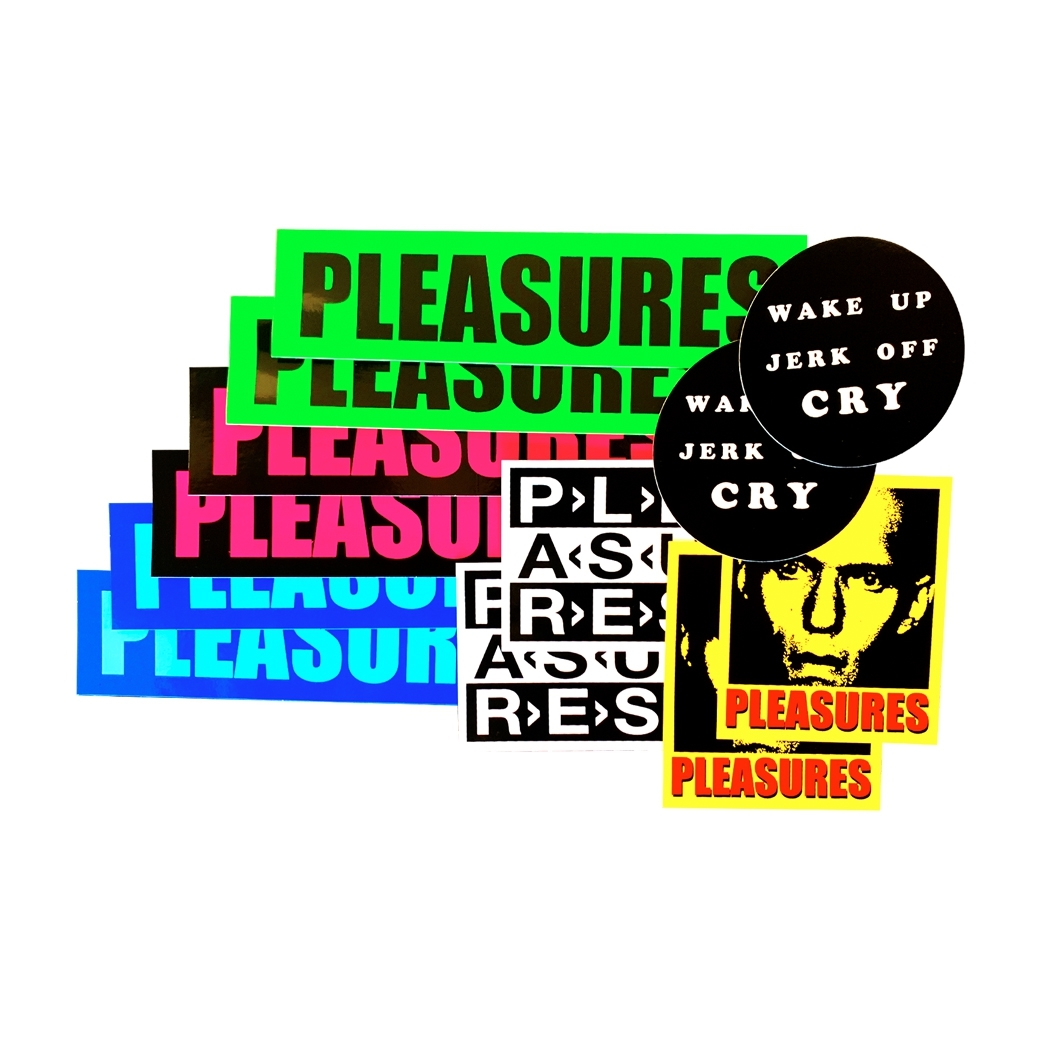 PLEASURES HOLIDAY 2019 STICKER PACK