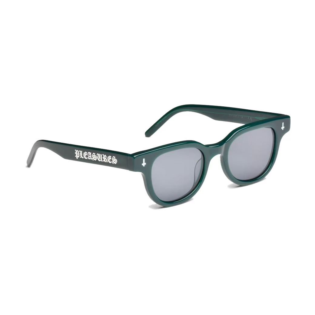 PLEASURES LEGACY SUNGLASSES GREEN