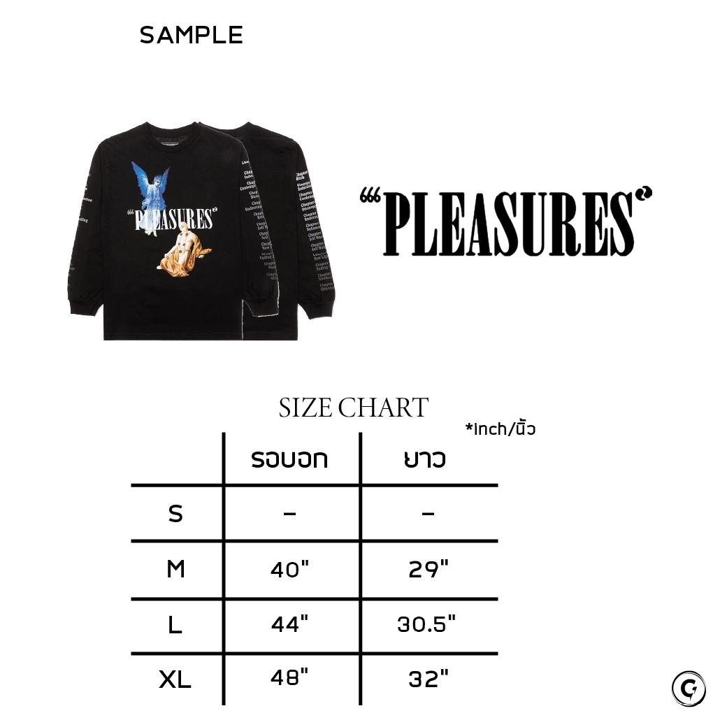 PLEASURES RETURN L/S TEE BLACK
