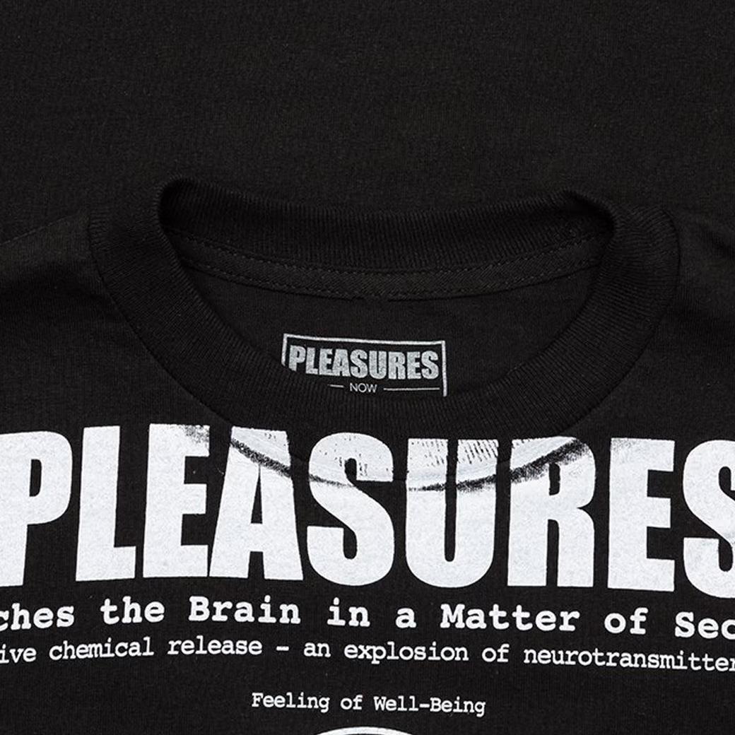 PLEASURES HIGHER SP20 TEE BLACK