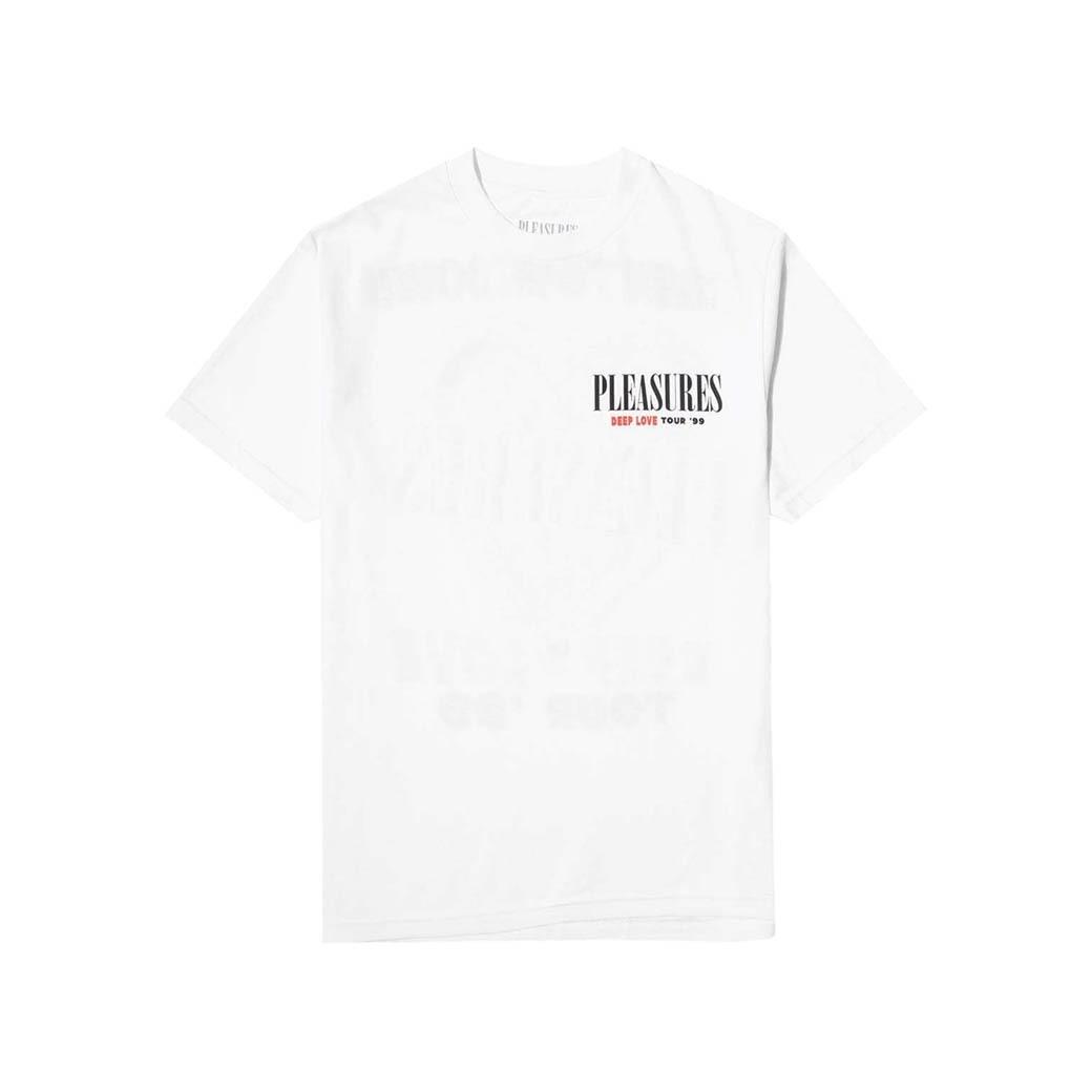 PLEASURES DEEP LOVE T-SHIRT WHITE