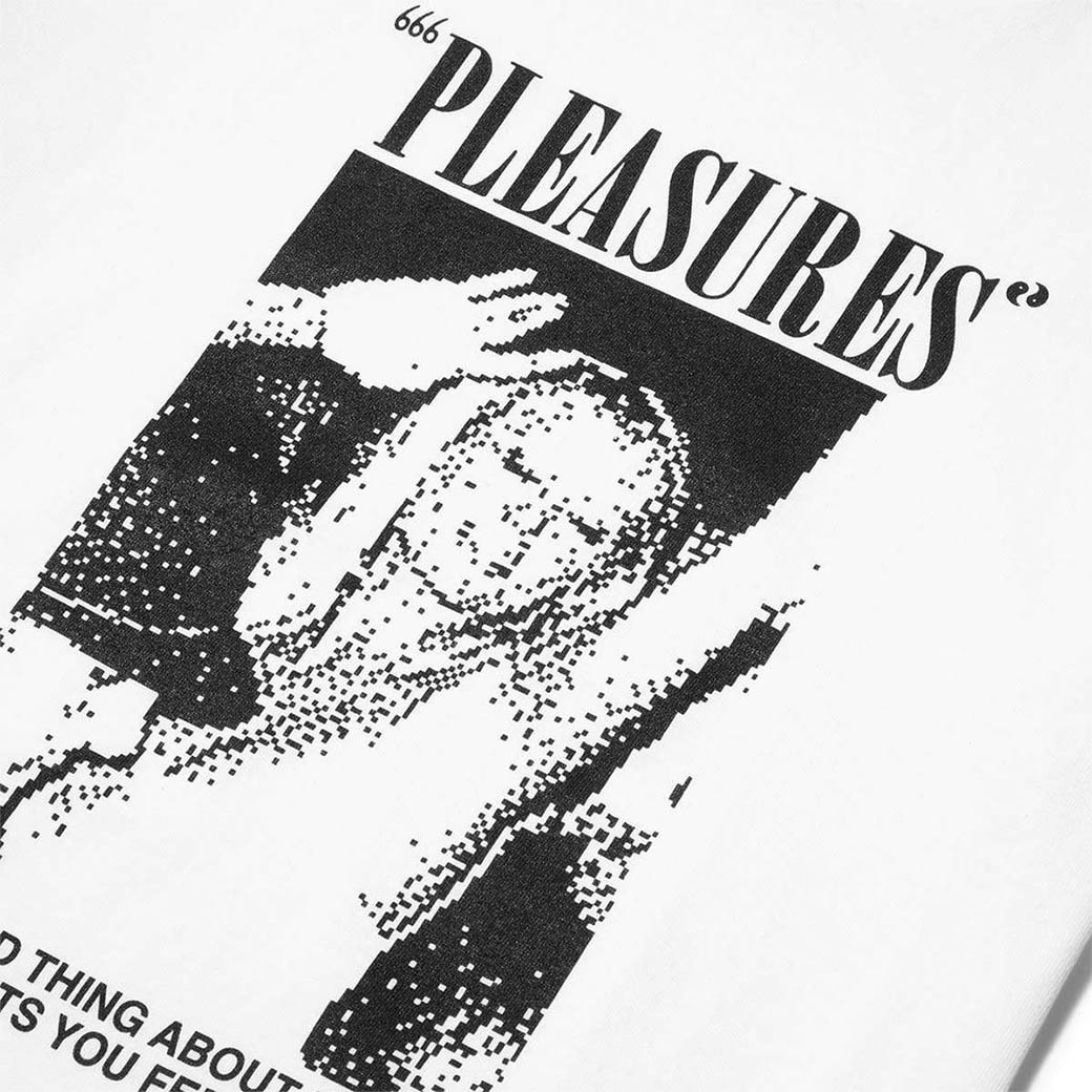 PLEASURES ONE NIGHT T-SHIRT WHITE