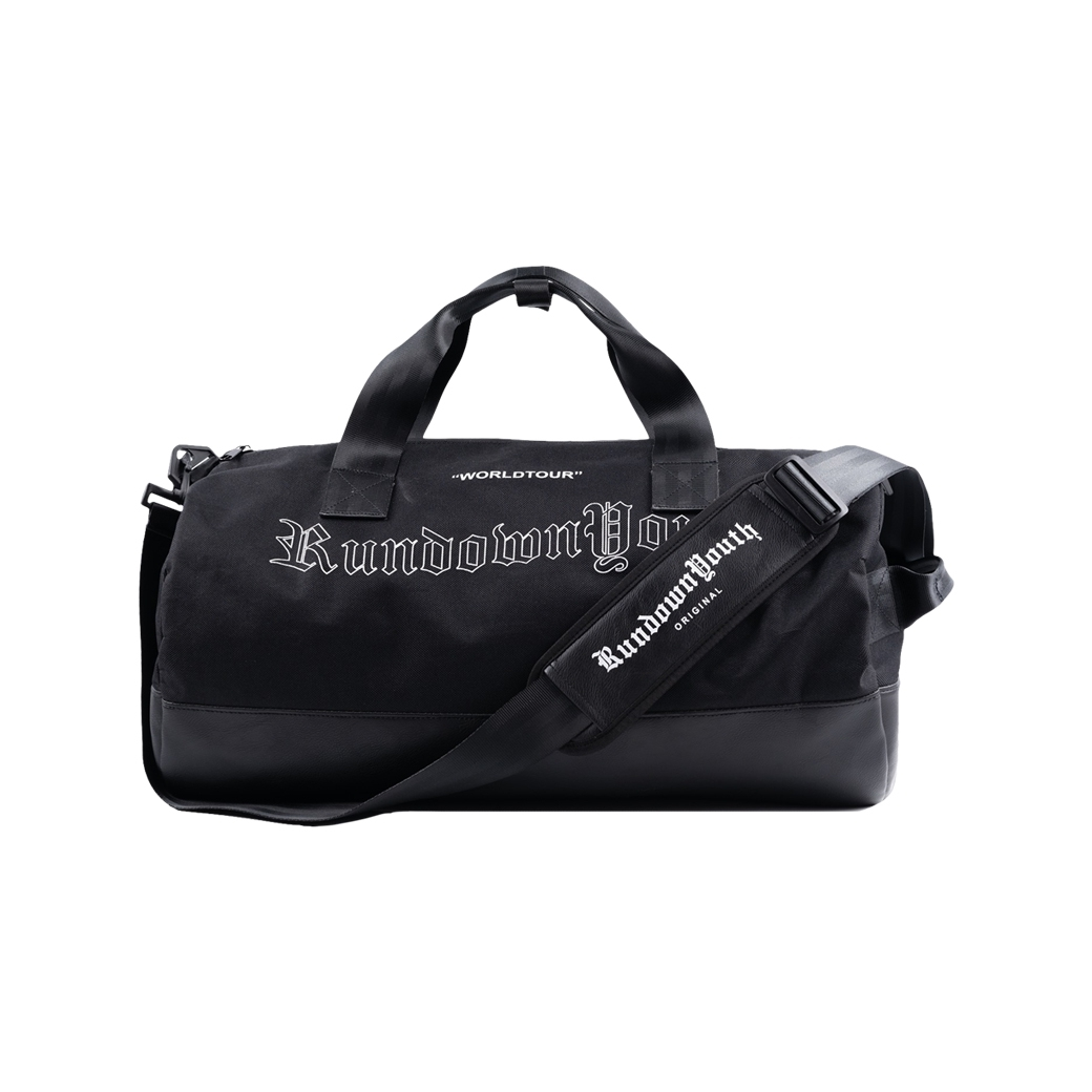 RUNDOWNYOUTH ORIGINAL DUFFLE BAG BLACK