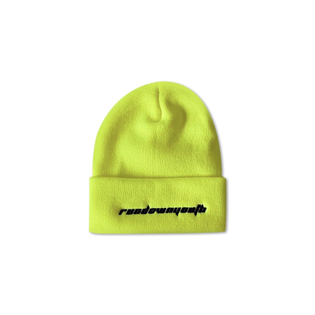 RUNDOWNYOUTH BEANIE NEON