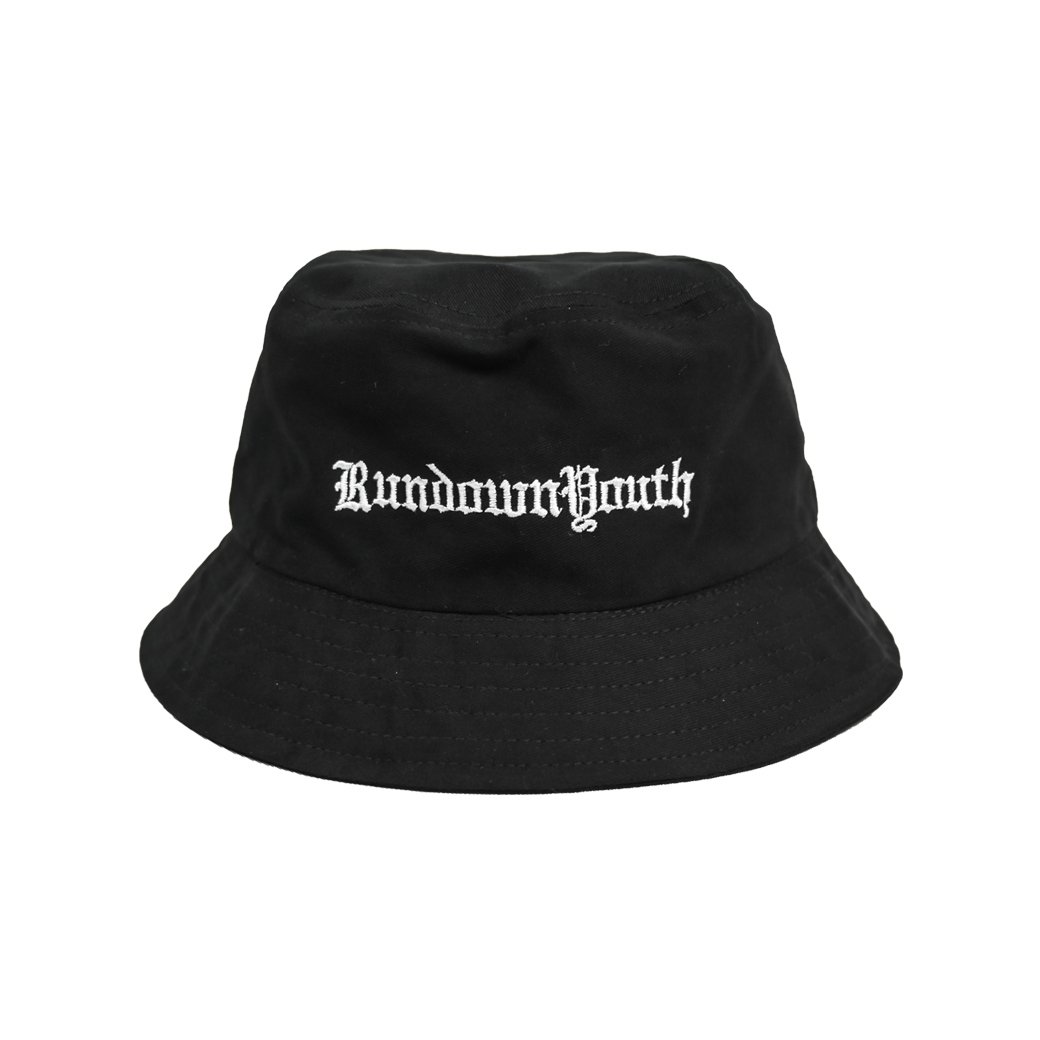RUNDOWNYOUTH YOUTH CULTURE BUCKET BLACK