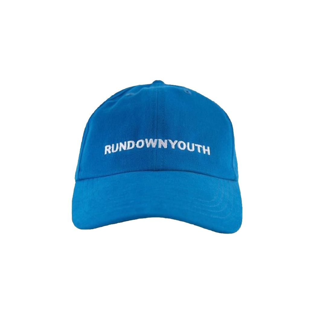 RUNDOWNYOUTH LOGO CAP BLUE
