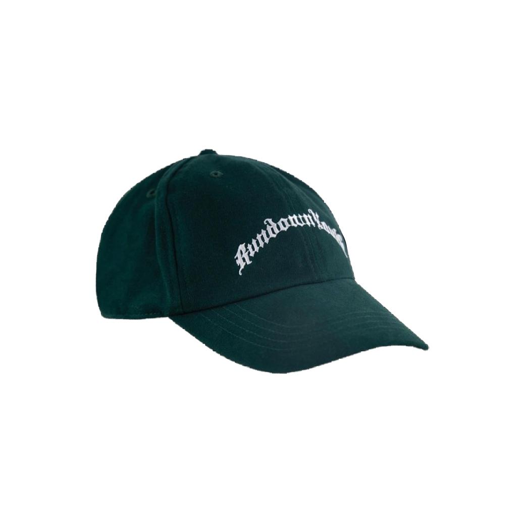 RUNDOWNYOUTH LOGO CAP GREEN