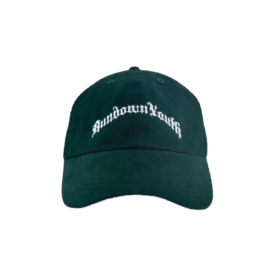 RUNDOWNYOUTH LOGO CAP GREEN