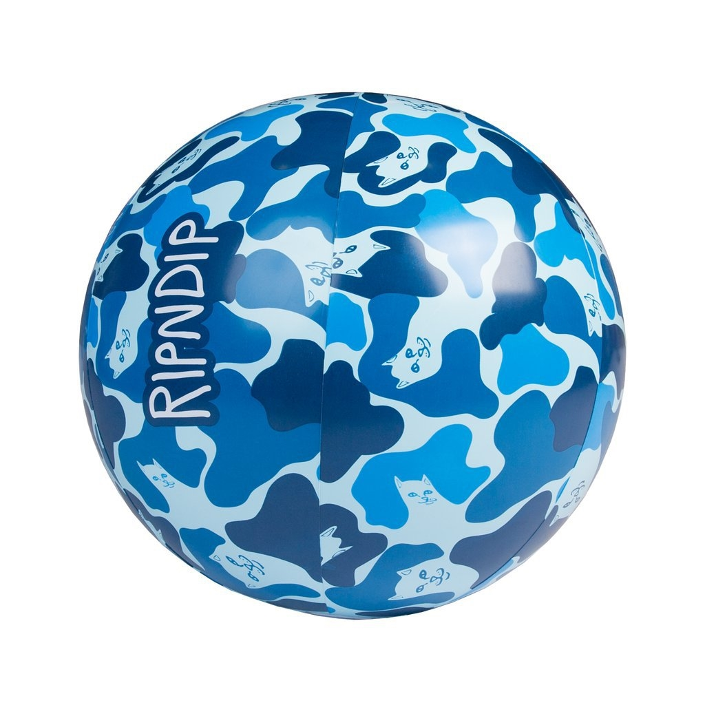 RIPNDIP BEACH BUM BEACH BALL BLUE/CAMO