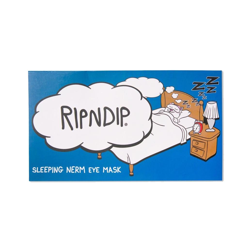 RIPNDIP SLEEPY NERM MASK WHITE
