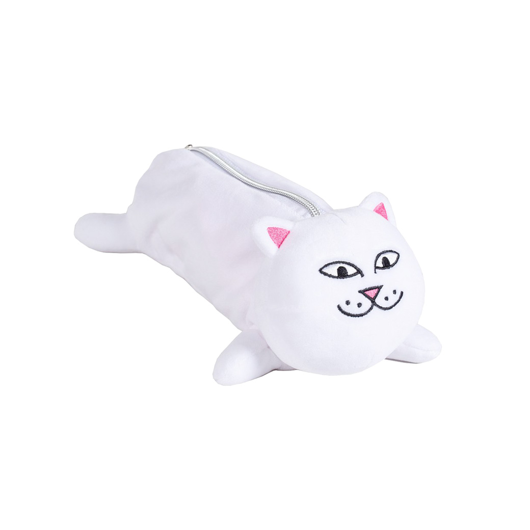 RIPNDIP NERM PENCIL POUCH WHITE
