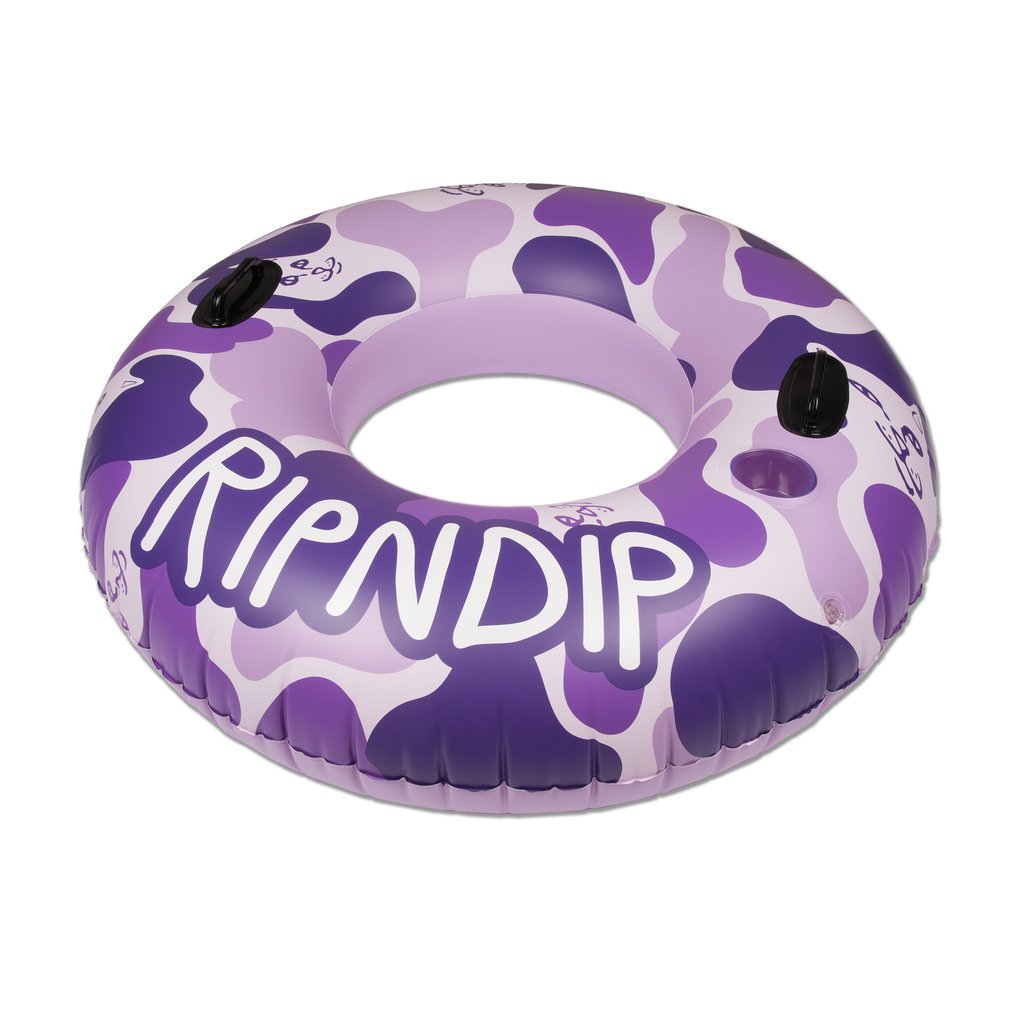 RIPNDIP TOOB POOL FLOAT PURPLE CAMO