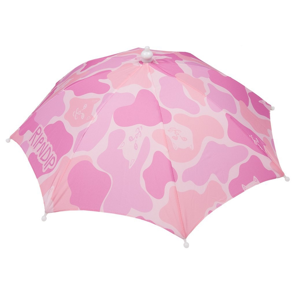 RIPNDIP REAL SHADEY UMBRELLA HAT PINK/CAMO