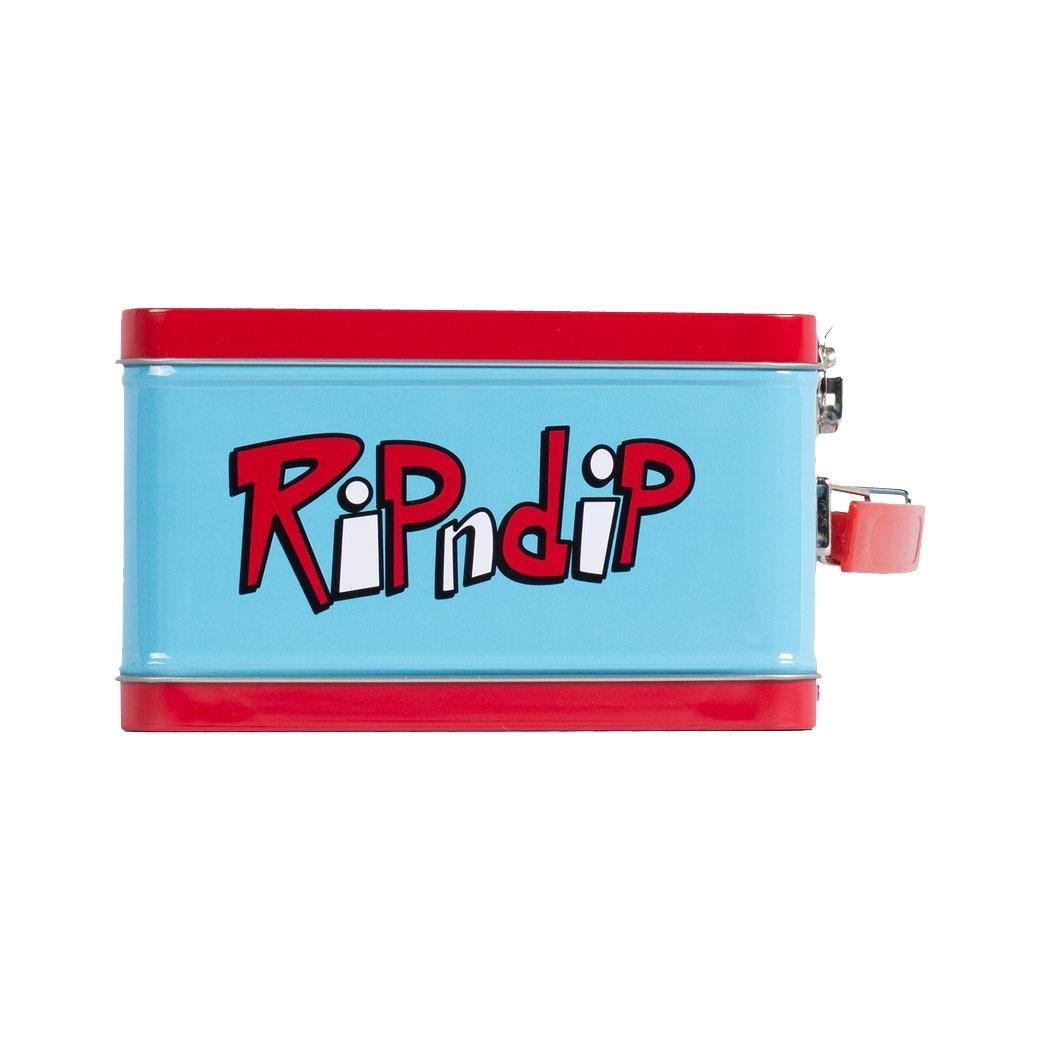 RIPNDIP NERM&JERM SNOW LUNCH BOX RED/BLUE