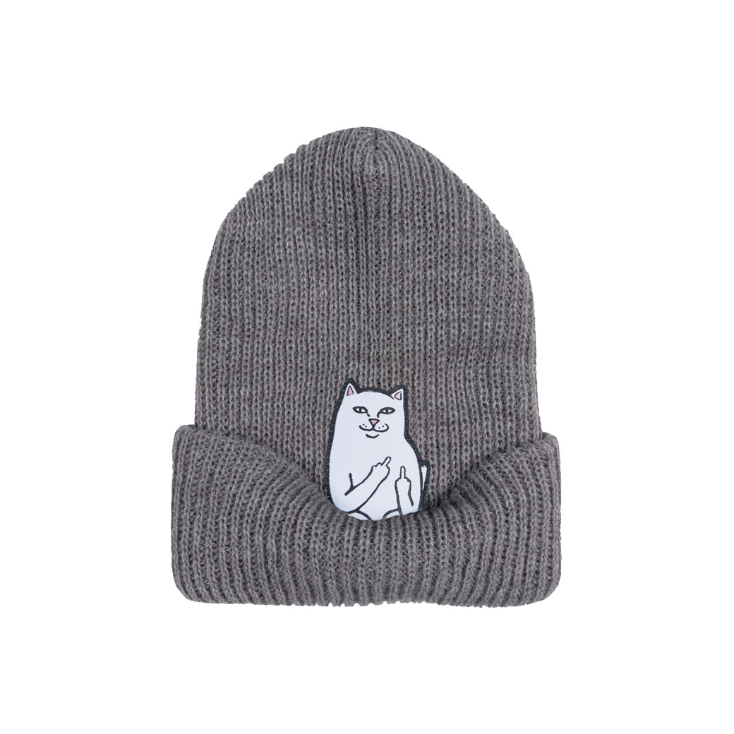 RIPNDIP LORD NERMAL BEANIE GREY