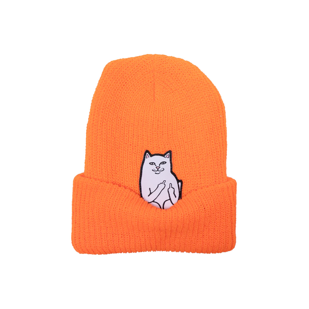 RIPNDIP LORD NERMAL BEANIE ORANGE