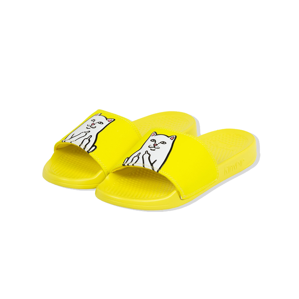 RIPNDIP LORD NERMAL SLIDES SAFETY YELLOW