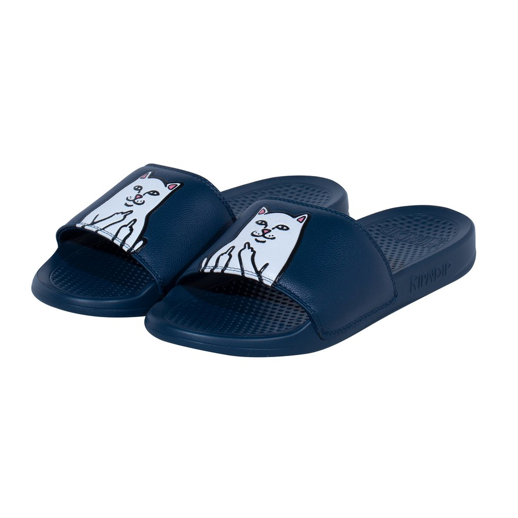 RIPNDIP LORD NERMAL SLIDES NAVY