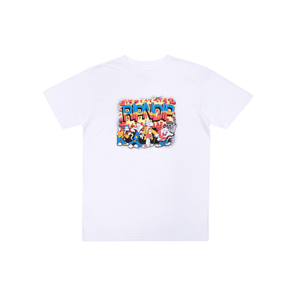 RIPNDIP LONEY GANG T-SHIRT WHITE