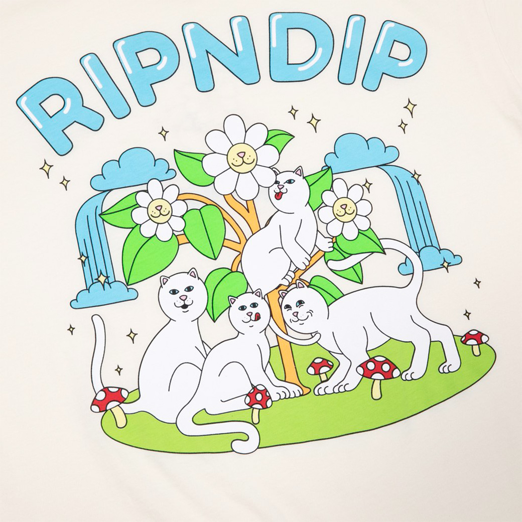 RIPNDIP MAGICAL PLACE T-SHIRT NATURAL