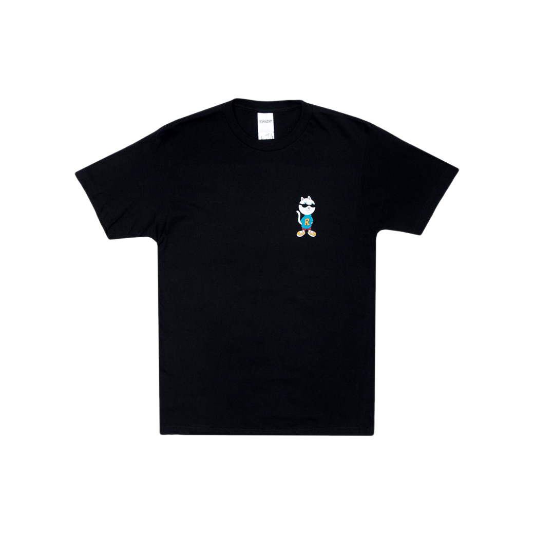 RIPNDIP NERM AND THE GANG T-SHIRT BLACK