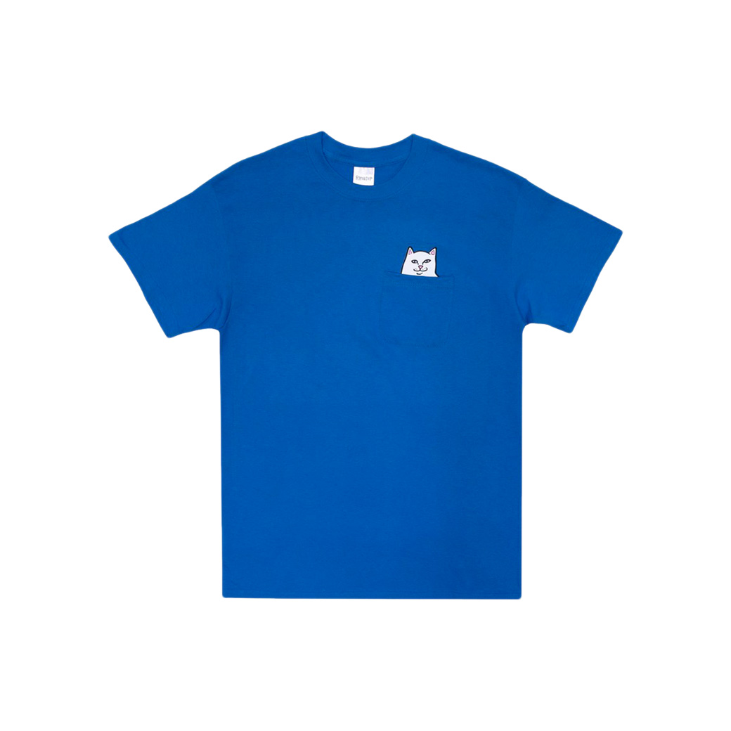 RIPNDIP LORD NERMAL POCKET T-SHIRT ROYAL BLUE