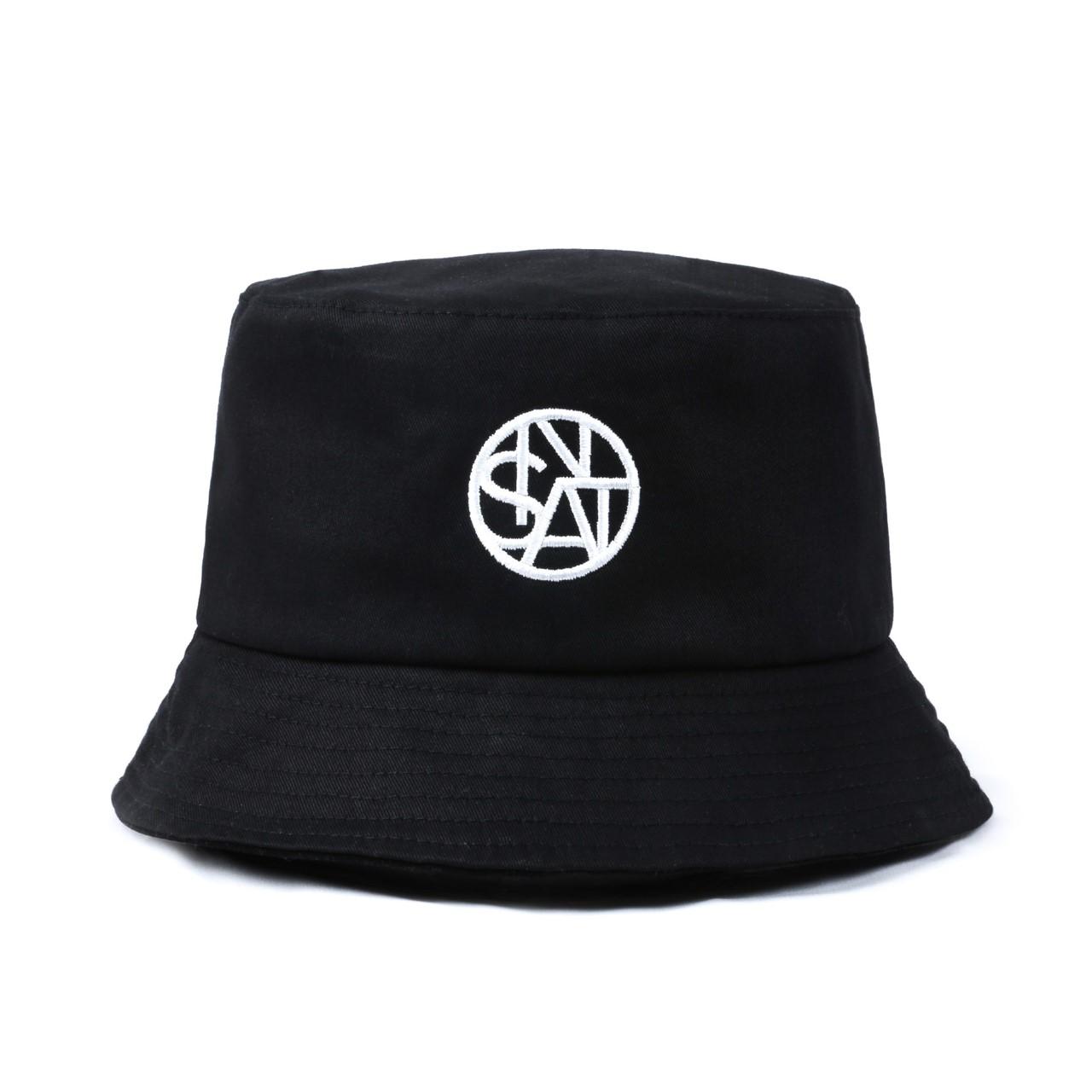 SANTINO BKK BUCKET HAT BLACK