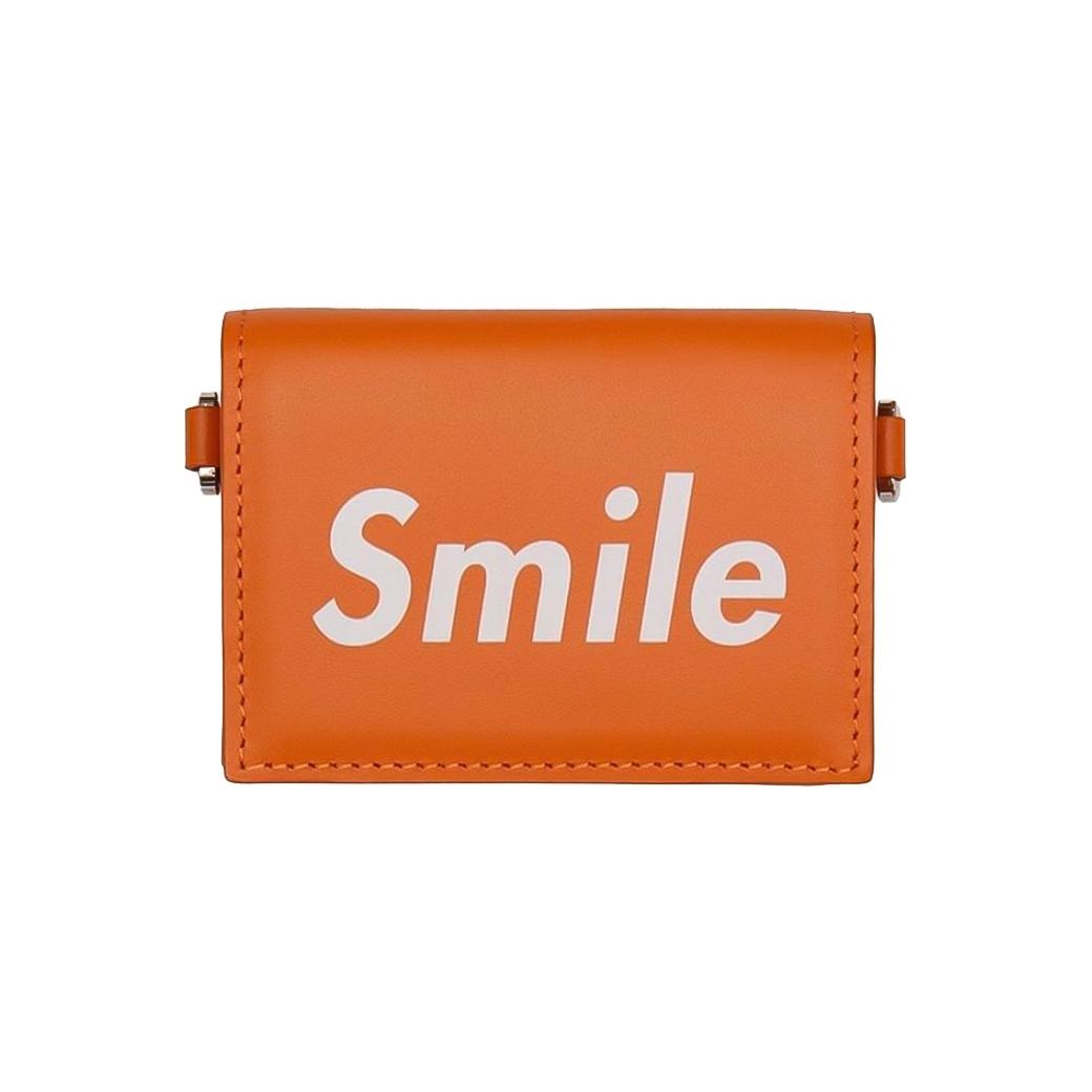 SMILE CLUB CUSTOM MINI WALLET ORANGE