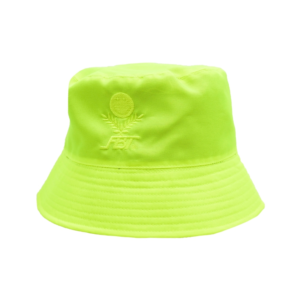 SMILE CLUB CUSTOM X FBT BUCKET HAT NEON