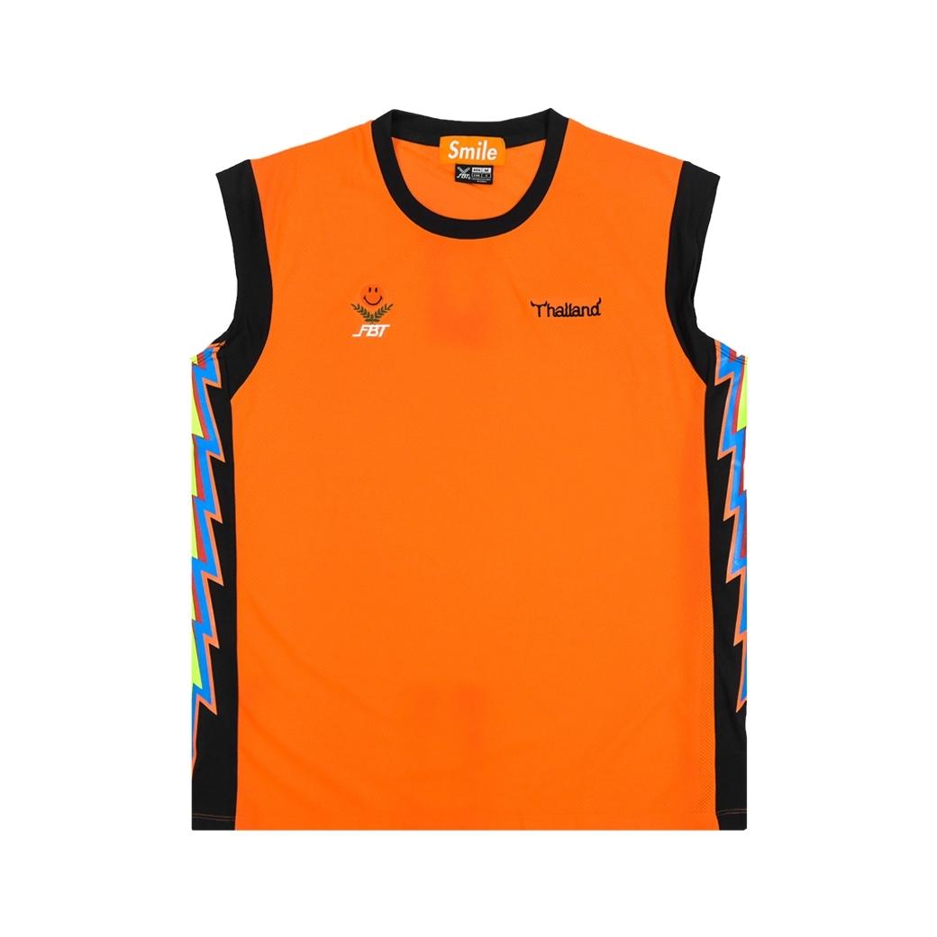 SMILE CLUB CUSTOM X FBT เสื้อวิ่ง JERSEYS ORANGE