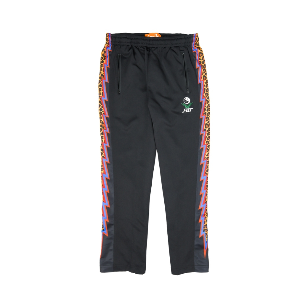 SMILE CLUB CUSTOM X FBT LEO PANTS BLACK