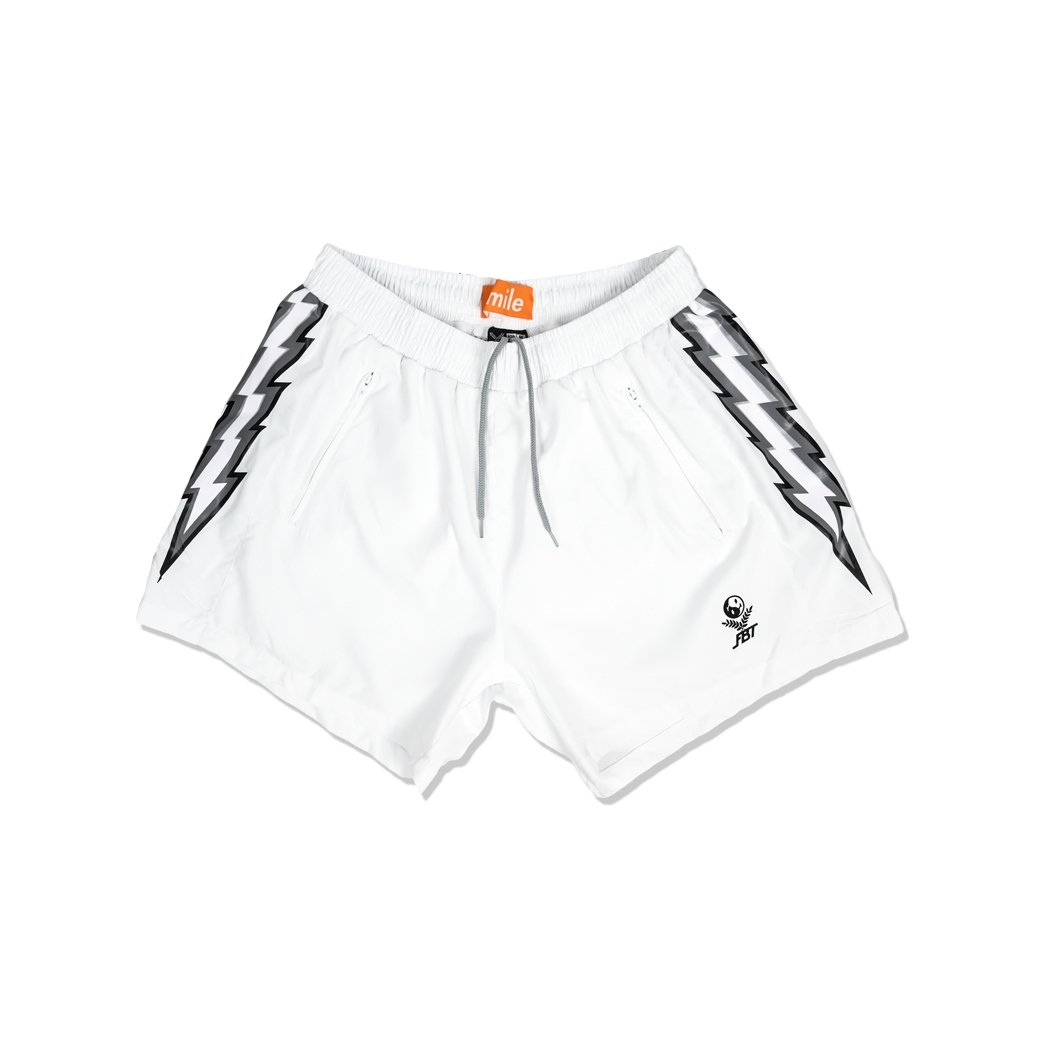 SMILE CLUB CUSTOM X FBT กางเกงฟุตบอล SHORTS WHITE