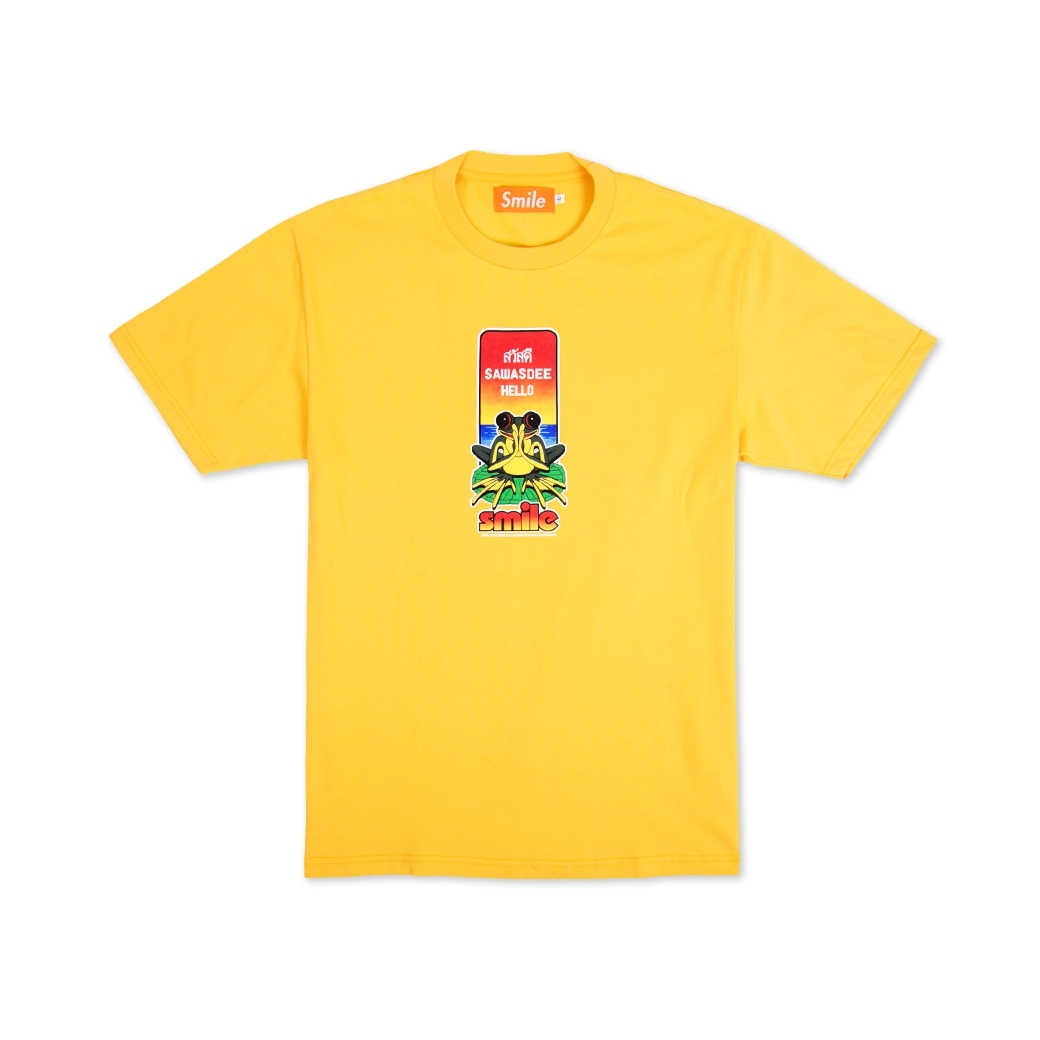 SMILE CLUB CUSTOM กบสวัสดี TEE YELLOW